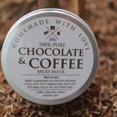 chocolate and coffee mask