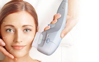 Teknologi HIFU untuk meremajakan kulit kendur dan keriput pada wajah, leher, dan perut
