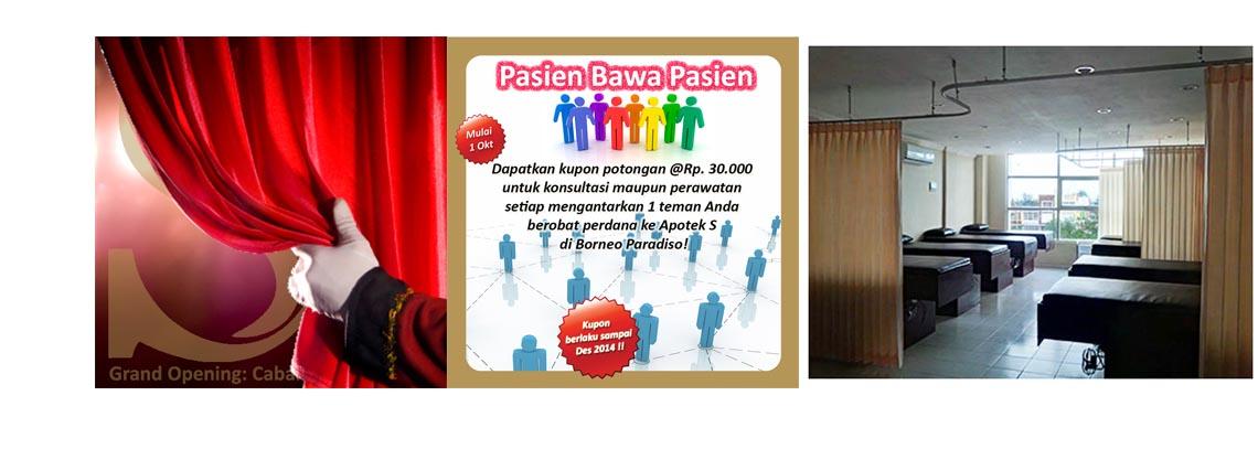 Promo GRAND OPENING Klinik dr. Arthur Cabang Borneo Paradiso