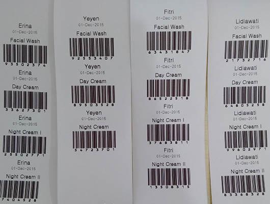 Barcode Krim Khusus per pasien